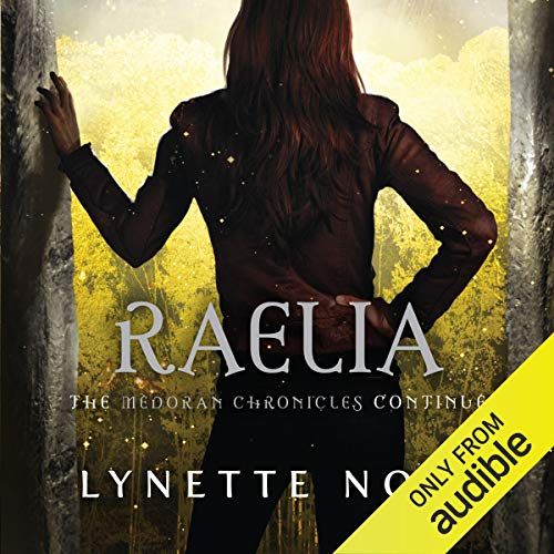 Raelia audiobook cover art