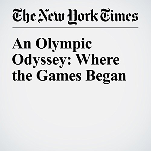 An Olympic Odyssey: Where the Games Began audiobook cover art