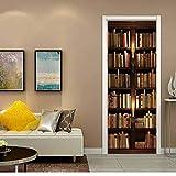 Wandtattoos Wandbilder3D Tür Aufkleber Bücherregal