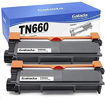 Galada Compatible Toner Cartridge Replacement for Brother Tn630 Tn660 High Yield for Hl-l2300d Hl-l2340dw Hl-l2305dw Hl-l2320d Hl-l2360dw Hl-l2380dw Dcp-l2520dw Dcp-l2540dw Mfc-l2700dw Mfc-l2720dw 2p