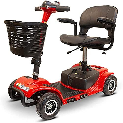 EWheels EW-M34 4-Wheel Foldable, Portable Lightweight Travel Electric Battery-Powered Medical...