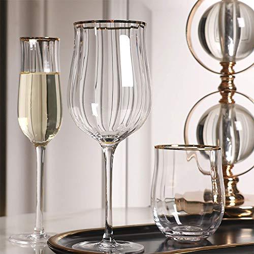 FFCVTDXIA Creative Wine Glass Champagner-Cocktail-Untertasse, klare Gläser x 1 05 DSB (Farbe: 5) (Color : C)