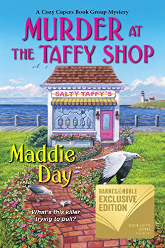 Murder at the Taffy Shop (A Cozy Capers Book Group Mystery 2) by [Maddie Day]