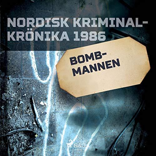 Bombmannen audiobook cover art
