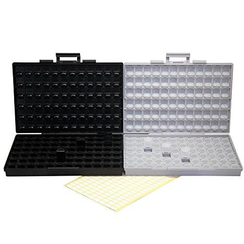AideTek BOX-ALL-144 SMD enclosure orgnizer BOX + ESD safe IC diode enclosure box