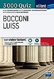 Test Bocconi – Luiss 2021: raccolta di 3.000 quiz. Con video-lezioni e simulatore in omaggio