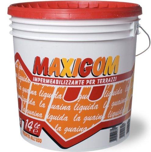 Guaina Liquida Impermeabilizzante Calpestabile Maxigom Laiv Trasparente 13 Lt