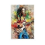 ZXCMNB Bob Marley - Póster de Bob Marley (30 x 45 cm)