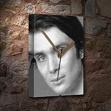 Seasons Cillian Murphy - Canvas Clock (A5 - Signed by The Artist) #js004