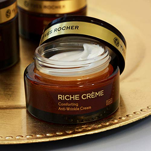 Yves Rocher Anti–Wrinkle Face Moisturizer Riche Crème Comforting Day Cream – 1.7 Oz – 1 Ct