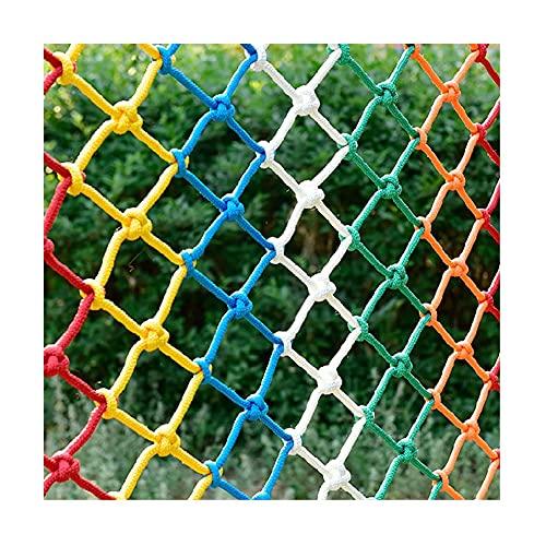 Red de escalada Coloree las redes de escalada para niños, redes de entrenamiento de desarrollo de la escalada de jardín de infantes, expansión escénica de las redes de escalada ( Size : 2*2m(7*7ft) )