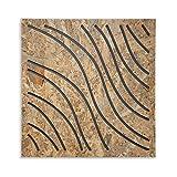 Immagine 1 pannello fonoassorbente wave wood in