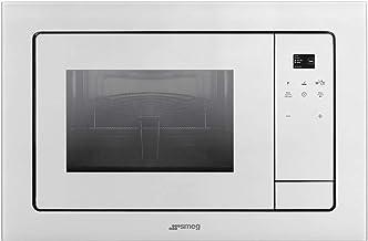 Smeg FMI120B1 Integrado - Microondas (Integrado, Microondas con grill, 21 L, Tocar, Blanco, 1000 W)