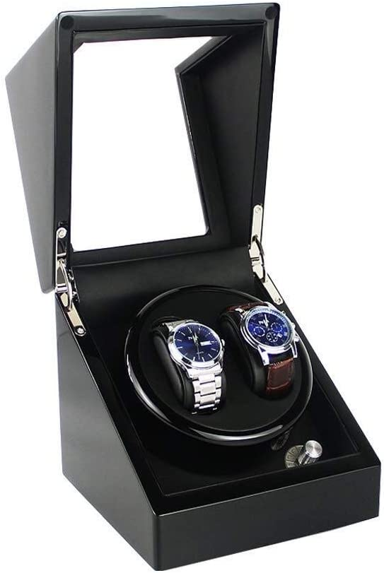 Watch ! Super beauty product restock quality top! Winders Automatic Single Winder Shell Wood Quiet Wat San Jose Mall