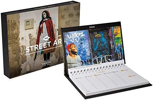 Street Art Tischkalender 2020: Wochenkalender mit Terminplaner (KUNTH Tischkalender mit Wochenplaner)