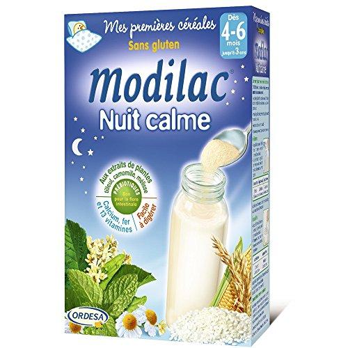 Modilac Nuit Calme Sans Gluten dès 4 Mois à 3 Ans