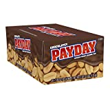 PayDay Chocolatey Peanut Caramel Standard bar, 1.85 Oz. (Pack Of 24)