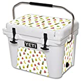 MightySkins (Cooler Not Included) Skin Compatible with YETI Roadie 20 qt Cooler wrap Cover Sticker Skins Fruit Friends