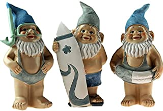 Novelty Garden Gnome Ornaments Figurines
