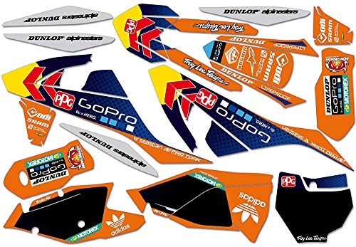 clean orange SX/SX-F (2016-) und EXC/EXC-F/SMR (2017-) | Decals Aufkleber Graphics