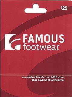 famous footwear e gift card
