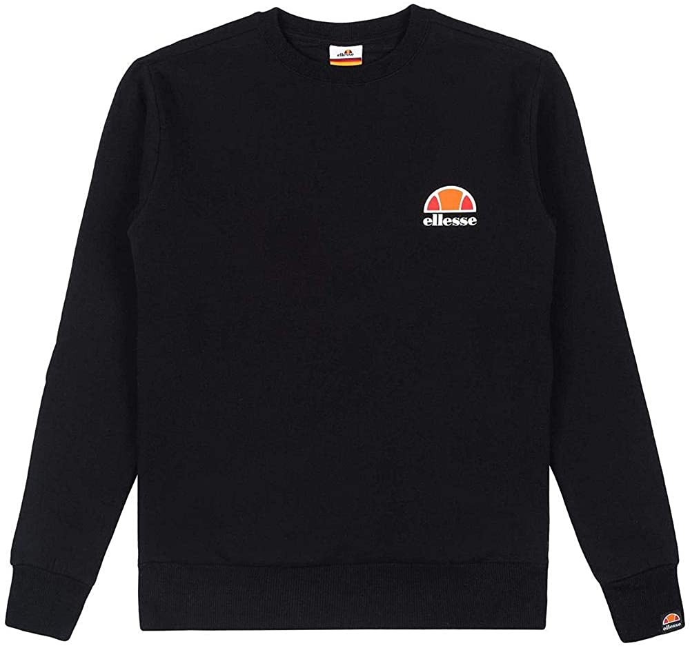 ellesse Women Sweatshirt Haverford, Color:Black, Size:12 (M)