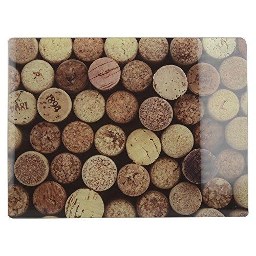 Creative Tops 5233685 - Protector de encimera, color marrón