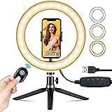 VicTsing Ring Light Telefono LED, Luce TikTok, Luce ad Anello LED 10' per...
