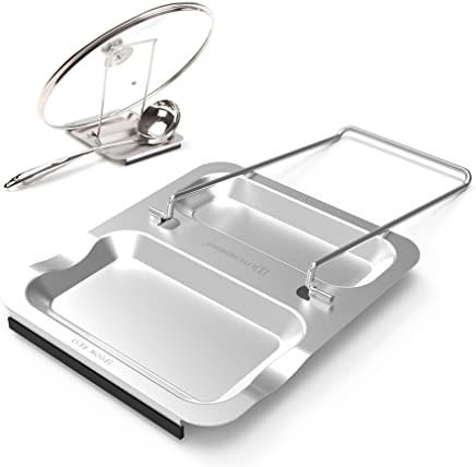 Lid Holder and Spoon Rest - Foldable for Easy Storage
