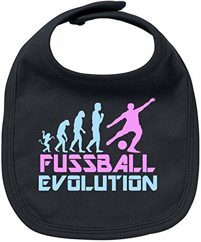 EZYshirt® Fussball Evolution Baby Lätzchen Halstuch