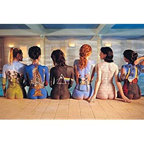 DMPro Pink Floyd Painting/Banksy Body Painting-Bilder-Hd-Drucke 5 Panel Modern Canvas Artwork FüR WohnwäNde GemäLde FüR Wohnzimmer Dekor-60x90cm / Ungerahmt