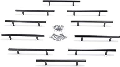 Anladia 10 x kastgrepen, meubelgrepen, deurgrepen, roestvrij staal, keukengrepen