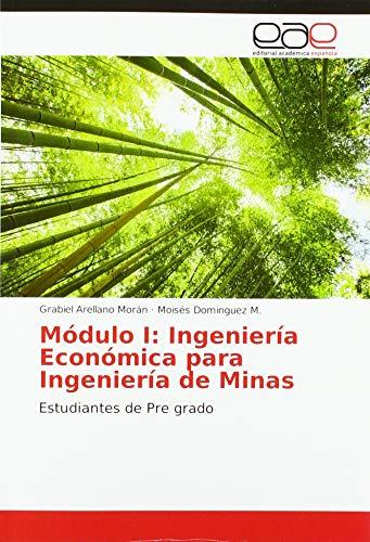 Módulo I: Ingeniería Económica para Ingeniería de Minas: Estudiantes de Pre grado