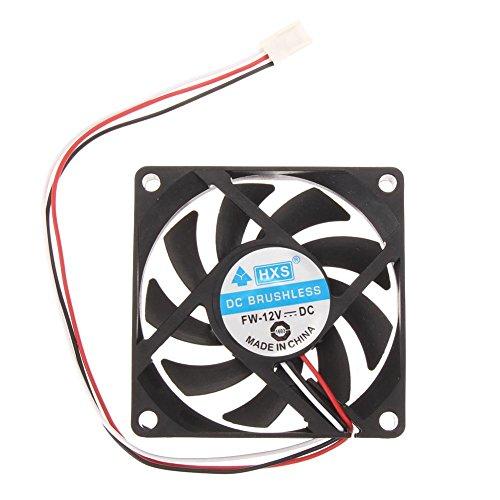 DHYED Dyed - Ventilador para CPU (70 mm, AMD, para carcasa de ordenador, alto rendimiento, aspas de 7 pulgadas, velocidad del ventilador: 2200 rpm)