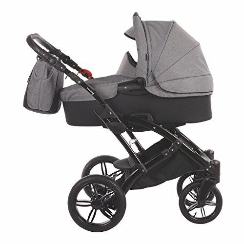 Knorr-Baby Kombi-Kinderwagen Voletto Carbon-Look