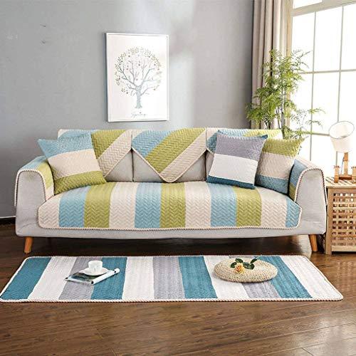 SLOUD Funda de sofá, cojín de sofá de Tejido Liso, Funda de sofá, Funda de sofá combinada, para Mascotas, Perros, Gatos, Funda de sofá seccional-D-110x240cm(43x95inch)