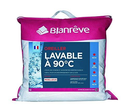 Blanrêve Oreiller Lavable A 90°C 65 x 65