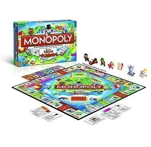 Monopoly Kinder überraschung Sorpresa Monopoli Rarissimo Versione in Tedesco