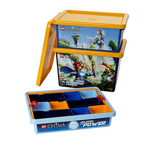 LEGO Lizenzkollektion 40911704 - Chima Sortiersystem mit Einsätzen