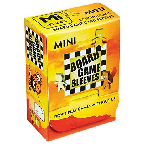 Arcane Tinmen-AT-10425-50 bustine Board Game Mini (41x63) Busta Protettiva, Colore Clear Non Glare, 41 x 63 mm, AT-10425