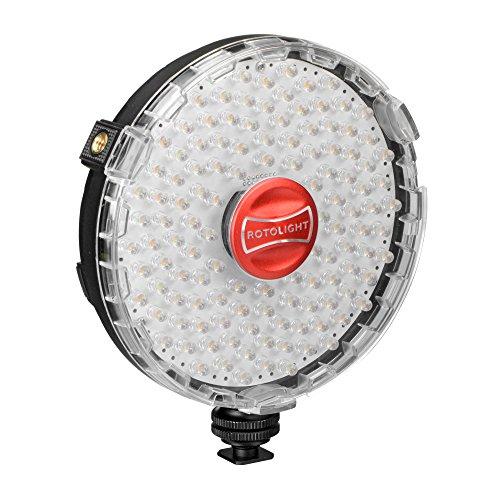 Foco Neo Continuous Rotolight de iluminación LED Continua con Controlador de Temperatura...