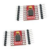 KKHMF 2個 デュアル モーター ドライバー モジュール 1A TB6612FNG Arduino マイクロコントローラー対応