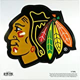 NHL Siskiyou Sports Fan Shop Chicago Blackhawks Logo Magnets 8 inch sheet Team Color