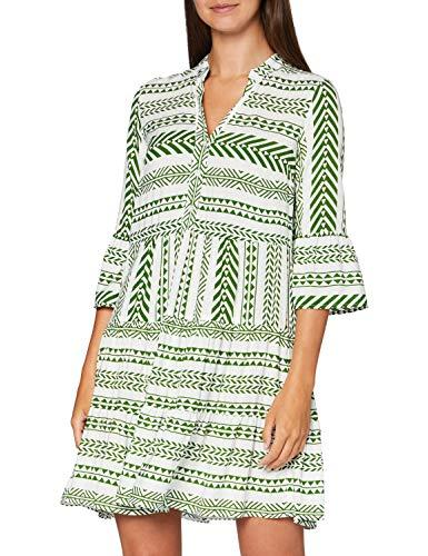 More & More Damen Kleid, Mehrfarbig, 36