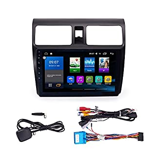 Android-91-Autoradio-Autonavigation-Steuergeraet-Stereo-Multimedia-Player-Geographisches-Positionierungs-System-Radio-25D-IPS-Touchscreen-FuerSUZUKI-Swift-2005-2010