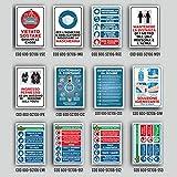 Paneles de advertencias e información en forex 25 x 35 cm Mascarilla obligatoria