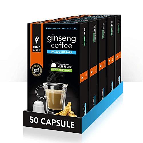 50 capsule Nespresso®* - Caffè al Ginseng da Zuccherare