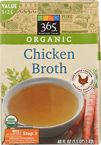 Whole Foods 365 Organic Chicken Broth