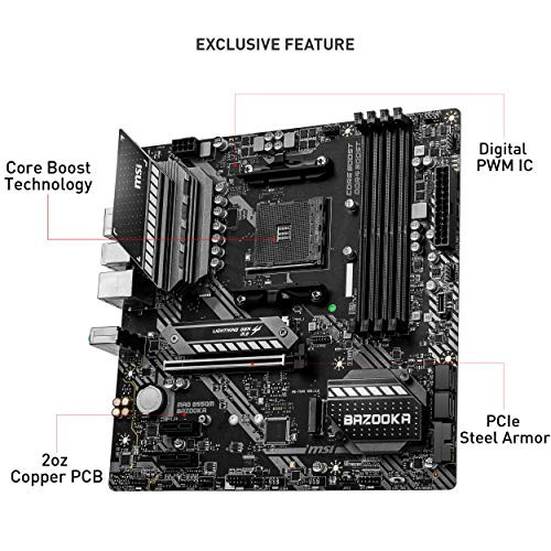 MB MSI MAG B550M BAZOOKA ATX AMD AM4