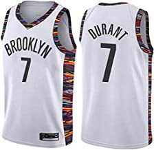 June Bart Camiseta de Baloncesto para Hombre,Mujeres Jersey Hombre - NBA Brooklyn Nets 7# Durant Jerseys Transpirable Bordado Baloncesto Swingman Jersey